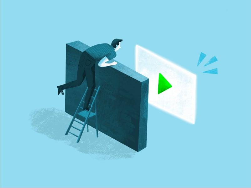 Illustratie - Verbeter je SEO  als je video gemakkelijker te vinden is, heeft deze meer kracht
